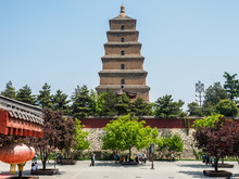 Giant Wild Goose Pagoda Of Xia...