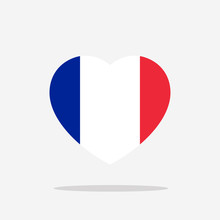 France Flag Icon Sign Template Color Editable. France National Symbol Vector Illustration For Graphic And Web Design.