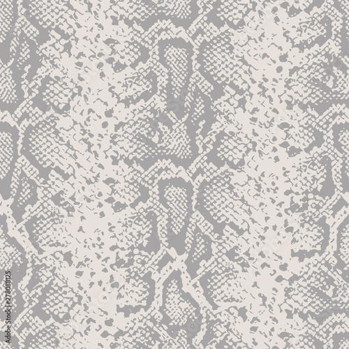 mata magnetyczna Snake skin pattern design - funny drawing seamless pattern. Lettering poster or t-shirt textile graphic design. / wallpaper, wrapping paper.