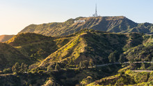 Panorama Of The Hollywood Hill...