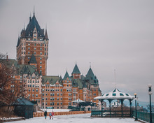 Chateau Frontenac, Quebec, Can...
