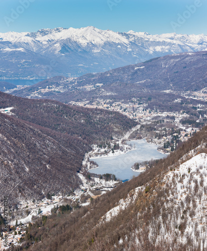 Photo  Northern Italy in winter