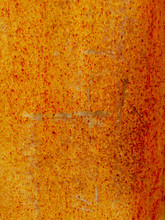 Rust On Metal As Abstract Background