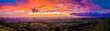 Leinwandbild Motiv Sunset in Santa Rosa in Costa Rica