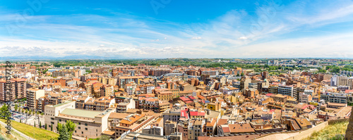 Panoramic view at the Lleida Town - Spain - 278157729