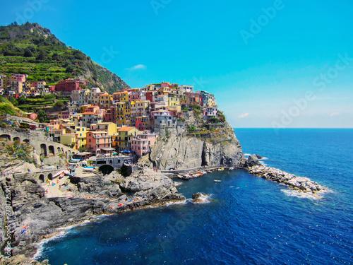 In de dag Mediterraans Europa Village Manarola on Italian Coast