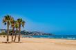 Küste und Strand in Benicassim Spanien