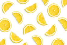 Lemon Slices As Pattern