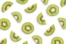 Kiwi Slices As Pattern