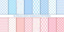 Polka Dot Pattern. Seamless Ba...
