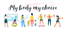 My Body My Choice Feminist Ins...