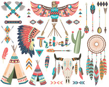 Tribal Indian Native Elements ...