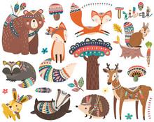 Woodland Tribal Animal Collect...