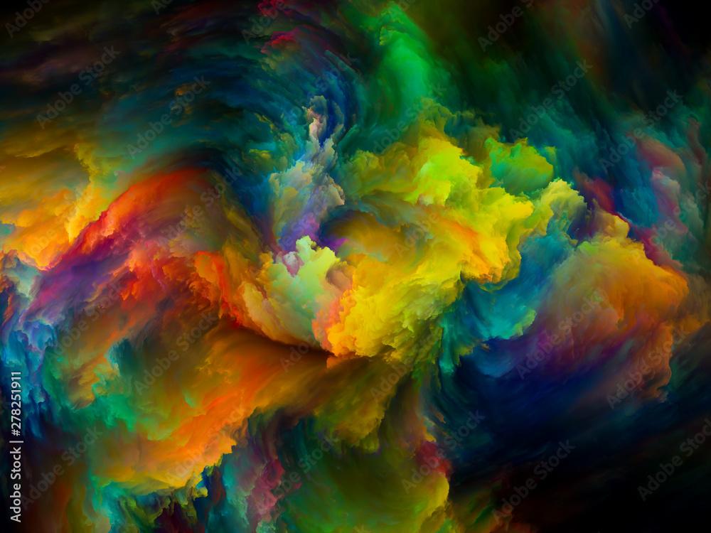 Fototapety, obrazy: Paint Swirl