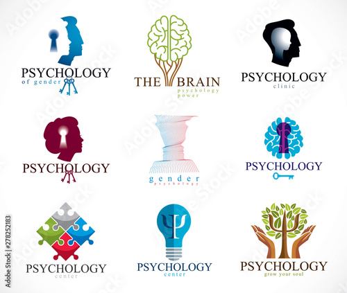 Fotografie, Tablou  Psychology, human brain, psychoanalysis and psychotherapy, relationship and gender problems, personality and individuality, cerebral neurology, mental health