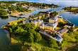 Helsinki aus der Vogelperspektive