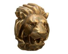 3D Render Of Brass Lion Head I...