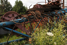Rusty Metal Details Of Tower C...