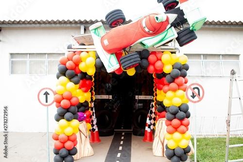 Fotografie, Obraz  Decoração Festa Infantil