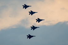 F15s Flying In Formation