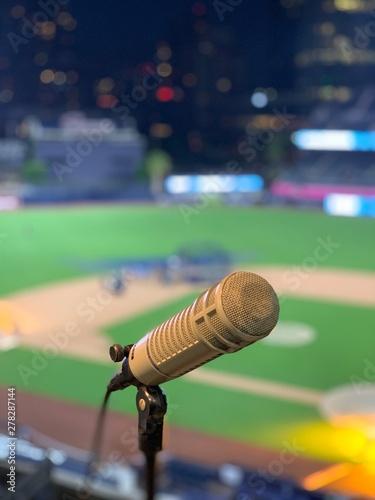 Photo Baseball Mic