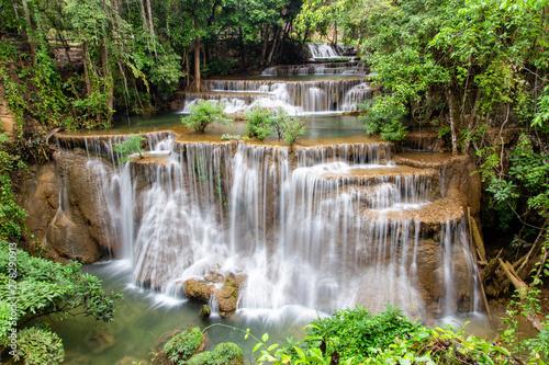 Fototapety, obrazy: Huai Mae Khamin waterfall