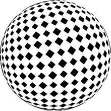 Black And White Checkered Back...