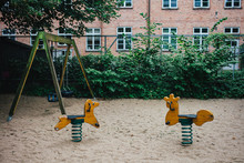 Empty Playground In A Park