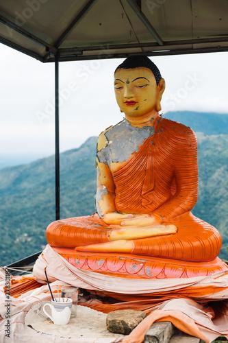 Fotobehang Historisch mon. Buddha