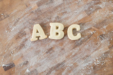 Shortbread Cookie Letters Spel...