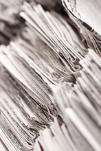 Close Up Of Newspaper