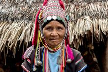 Akha Tribe's Woman