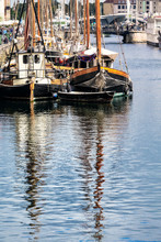 Boat Reflections In Nyhavn, Co...