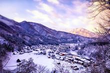 The Landscape Of Japan. Shirak...