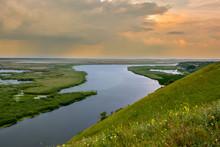Sunset On The Danube River - I...