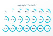 Percentage Vector Infographic ...
