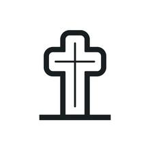 Grave Vector Icon