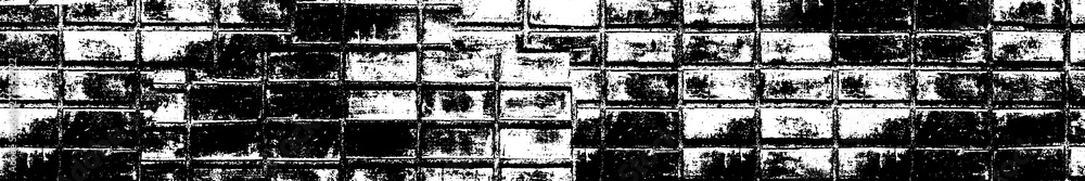 Fototapety, obrazy: Grunge background black and white. The texture is abstract monochrome. Vector pattern of spots, scratches, lines, dots.
