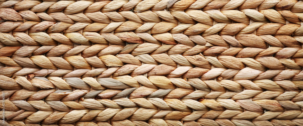 Fototapety, obrazy: woven basket texture may used as background