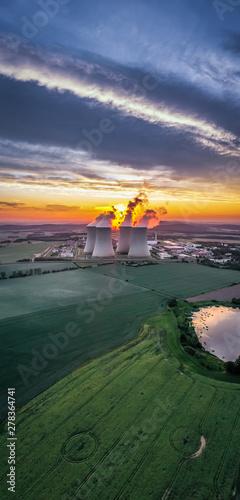 Fotografia  Temelin Nuclear Power Station