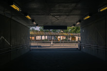 View From An Underpass To The ...