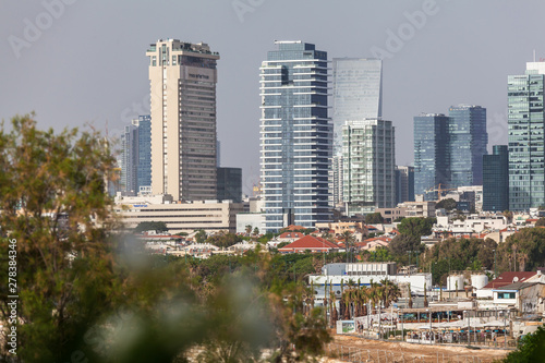 Canvas Prints Kuala Lumpur Beautiful view of the Tel Aviv.