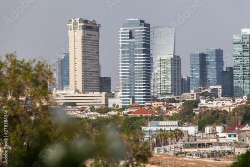 Photo Stands Kuala Lumpur Beautiful view of the Tel Aviv.