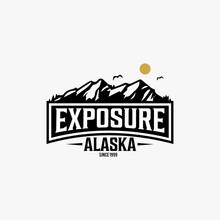 Alaska State Textured Vintage ...