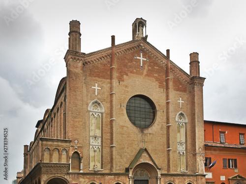 Basilica of San Giacomo Maggiore in Bologna. Italy - Buy this stock ...