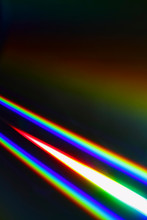 Beams Of Light Refracting And ...