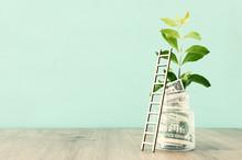 Business Image Of Savings Jar ...