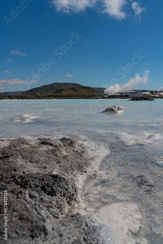 Foto op Aluminium Arctica Iceland Blue Lagon hot pool view
