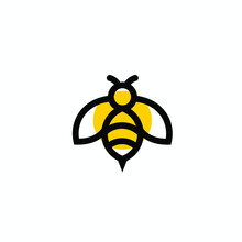 Bee Vector Logo Modern Graphic...