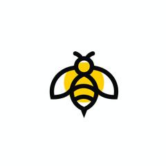 pčela vektorski logo moderna grafika sažetak kvaliteta preuzimanja